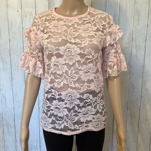 Style Therapy Lace Shirt
